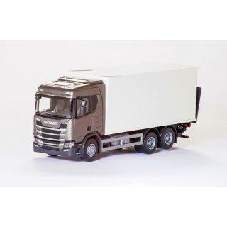 6x4 mit 4achs Anhänger EMEK 70605 Scania CR500 6x4 Holzhängerzug 1:25 rotes FH